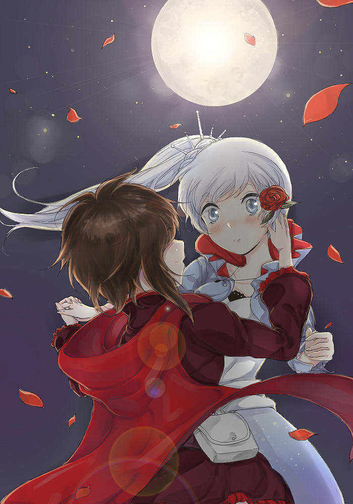 Ruby Rose And Weiss Schnee Rwby Know Your Meme