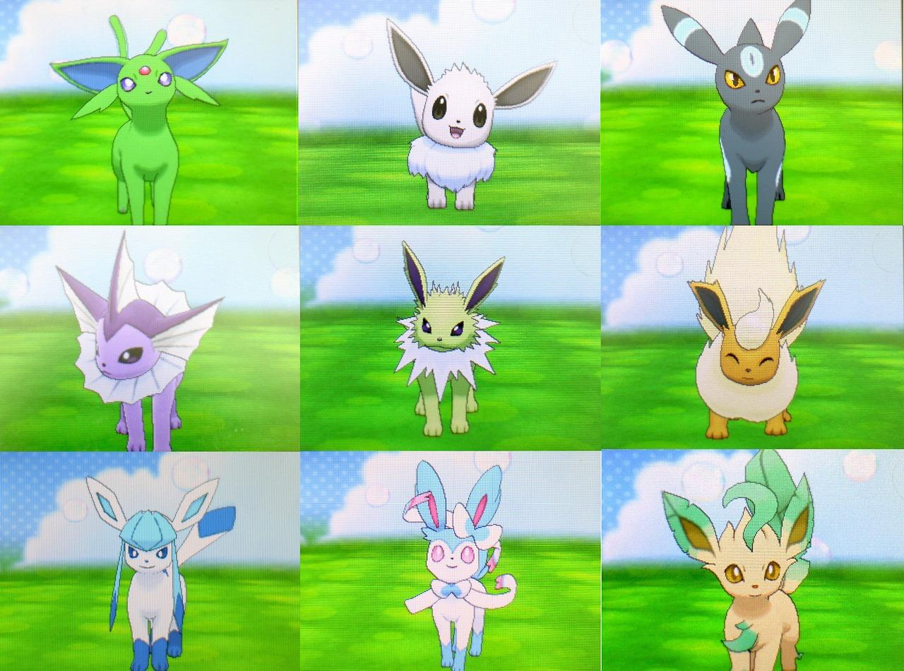 Shiny Leafeon Pokemon X