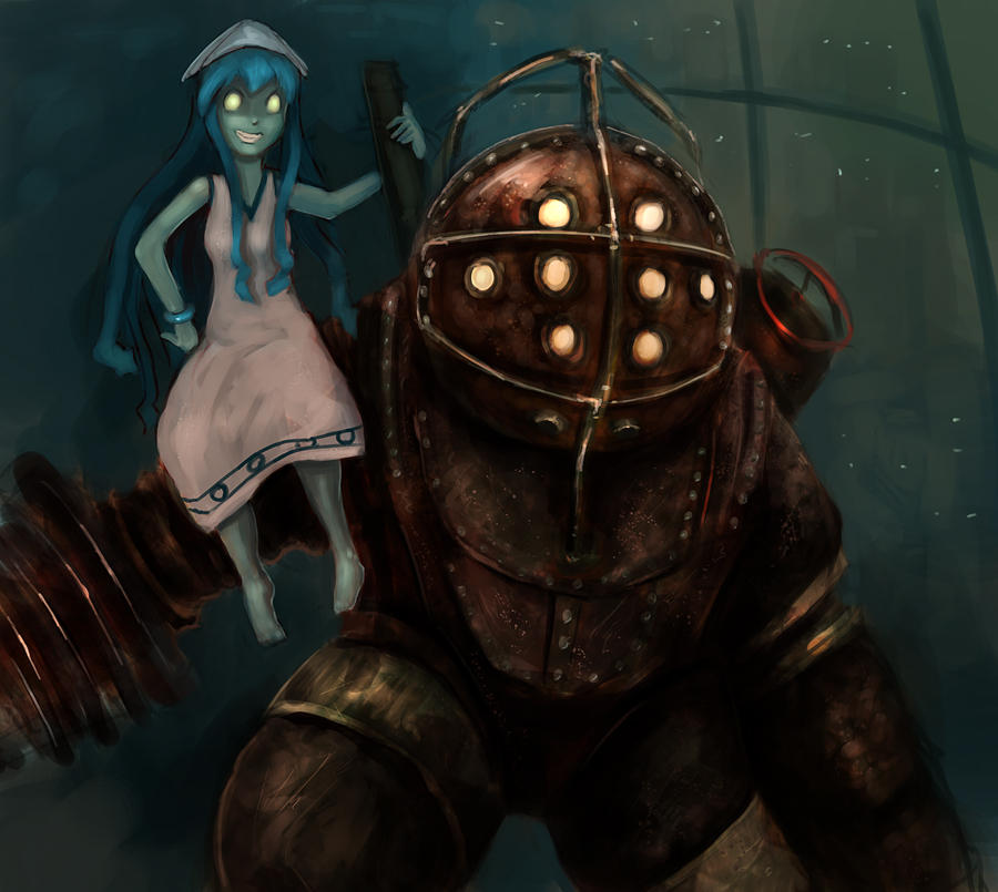 Best Video Game Anime Crossover Idea Bioshock Know