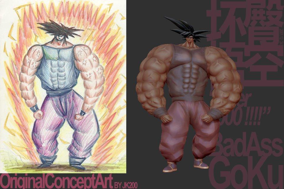 Goku | I Have Drawn You | Know Your Meme