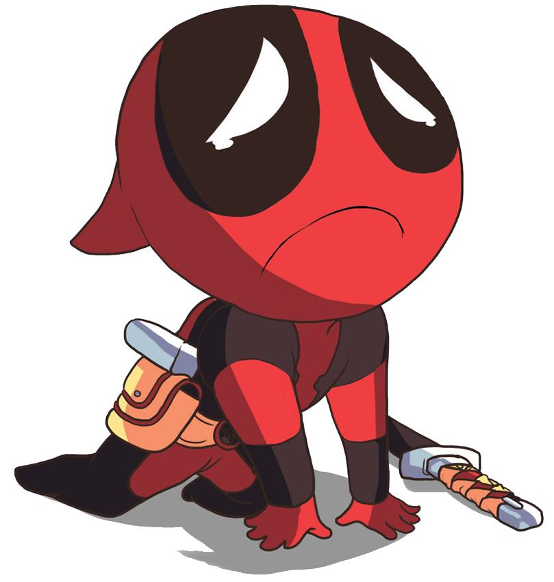 Sad Chibi Deadpool | Deadpool (Marvel Comics) | Know Your Meme