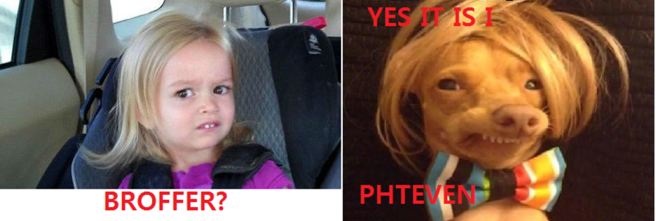 9fd chloe and phteven tuna phteven tuna the dog know your meme