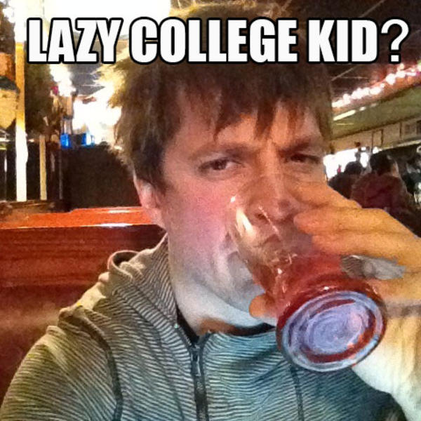 lazy college senior meme - photo #33