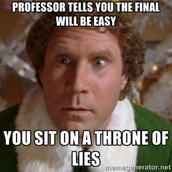 195 you sit on a throne of lies know your meme,Buddy Elf Memes