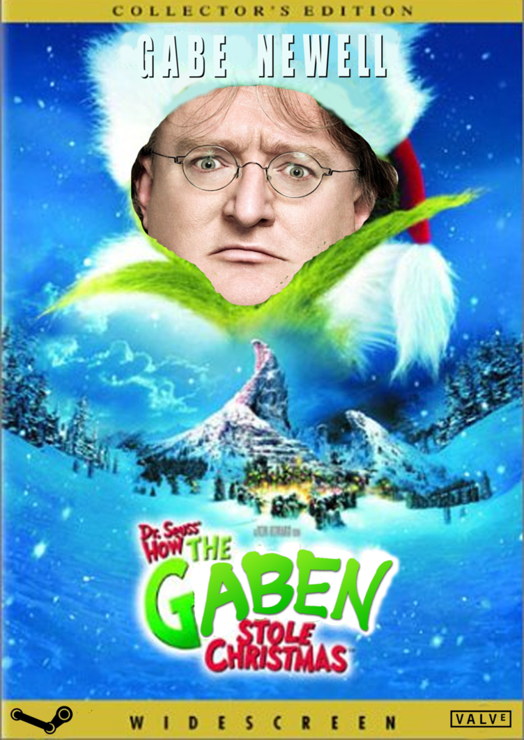 How The Gaben Stole Christmas | Gabe Newell | Know Your Meme