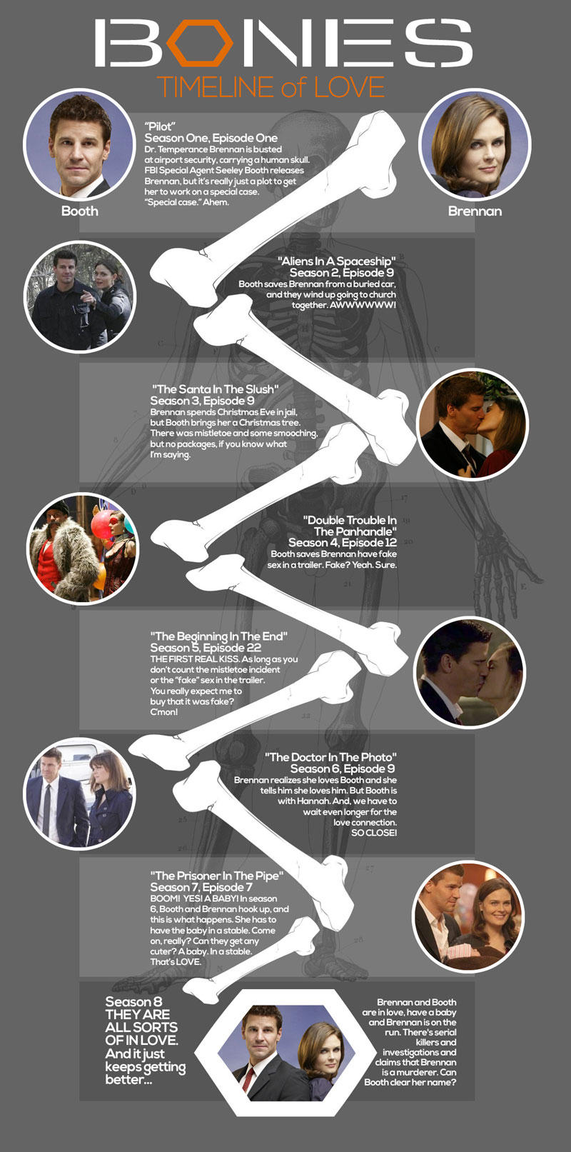 bones brennan and booth relationship timeline template