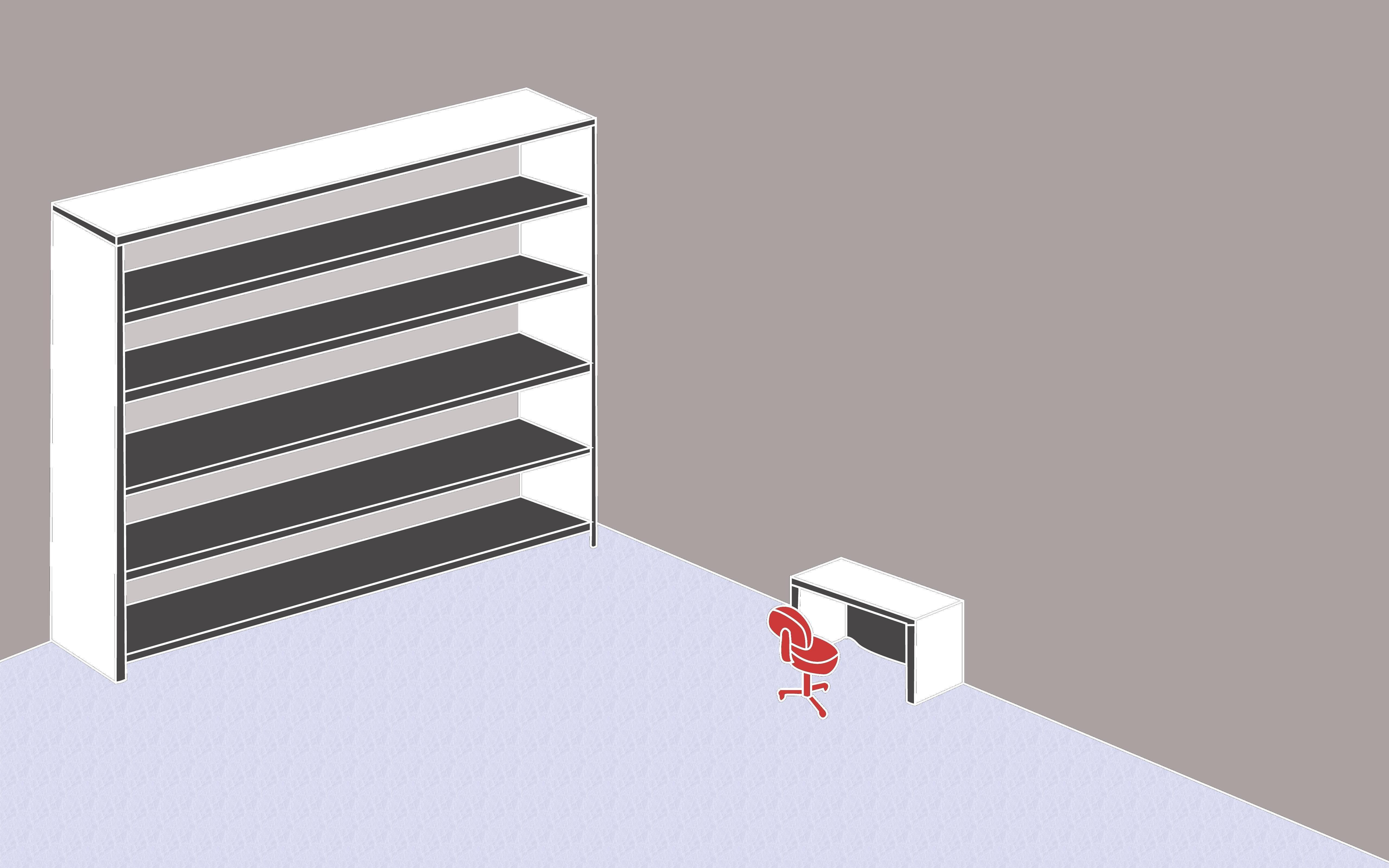 image 672135 bookshelf desktop wallpaper know your meme. Black Bedroom Furniture Sets. Home Design Ideas