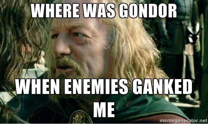 d2e league of gondor league of legends know your meme