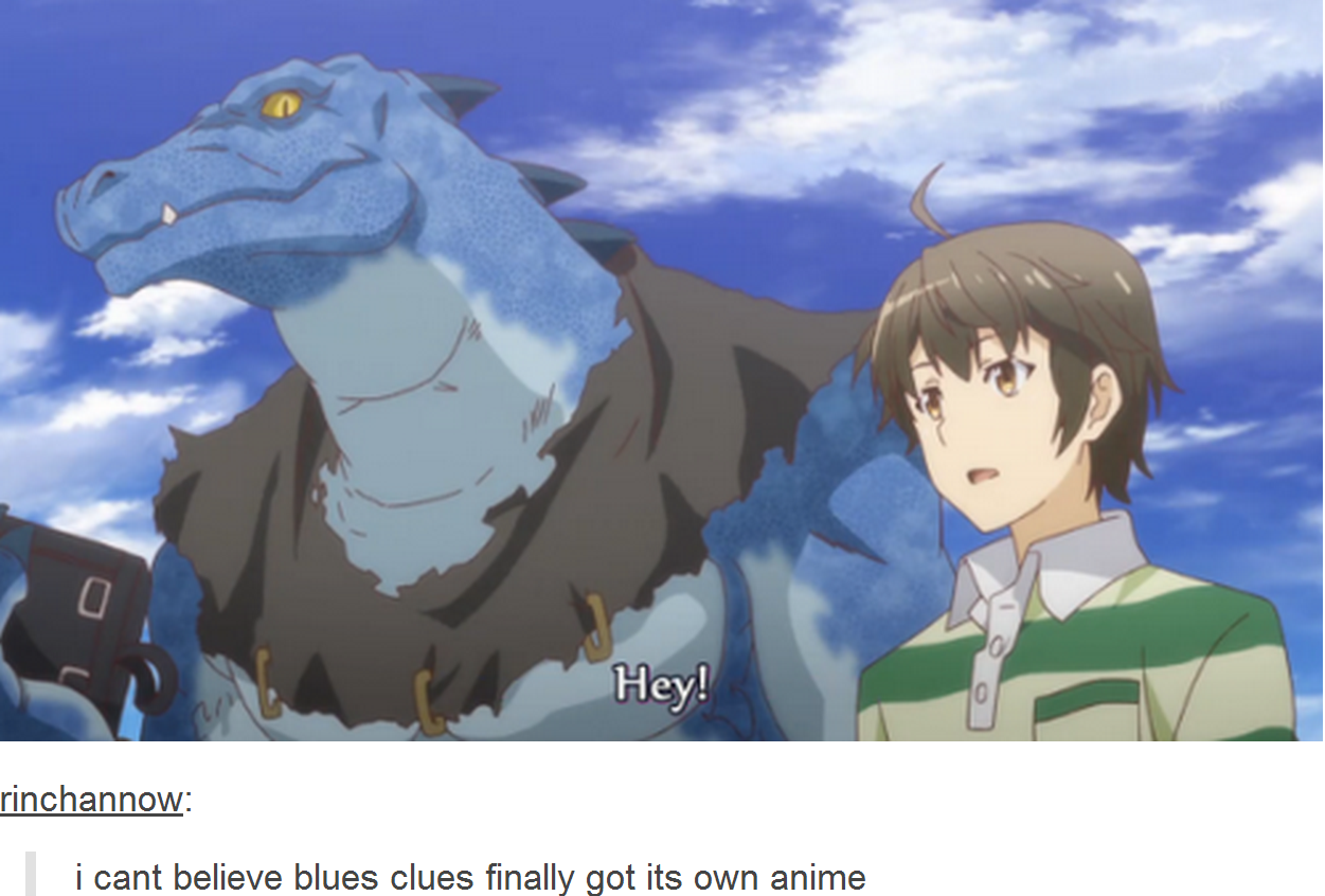blues clues the anime nickelodeon know your meme