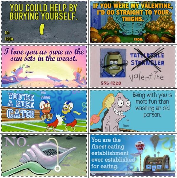image 697871 valentines day e cards know your meme - Spongebob Valentine Cards