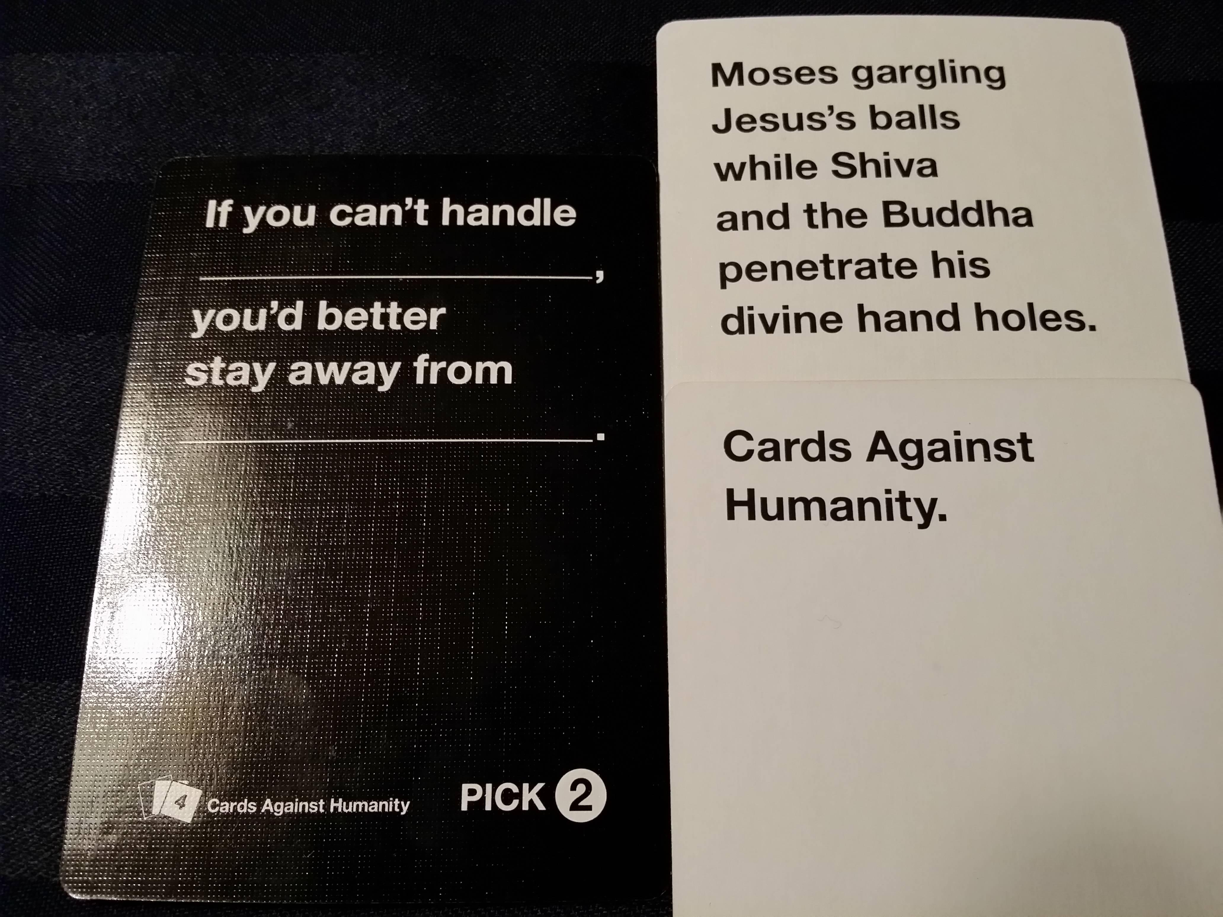 9 Times Cards Against Humanity Got It Right - Comediva