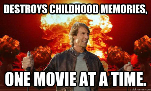 ddd image 706942] michael bay know your meme