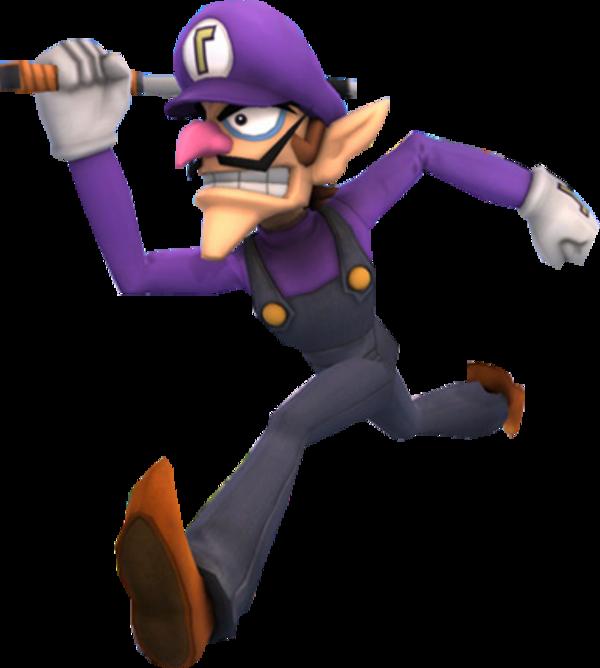 Waluigi without those inferior plumbers | Super Smash ...