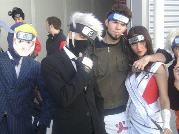 excellent naruto cosplay looks so real team fortress 2