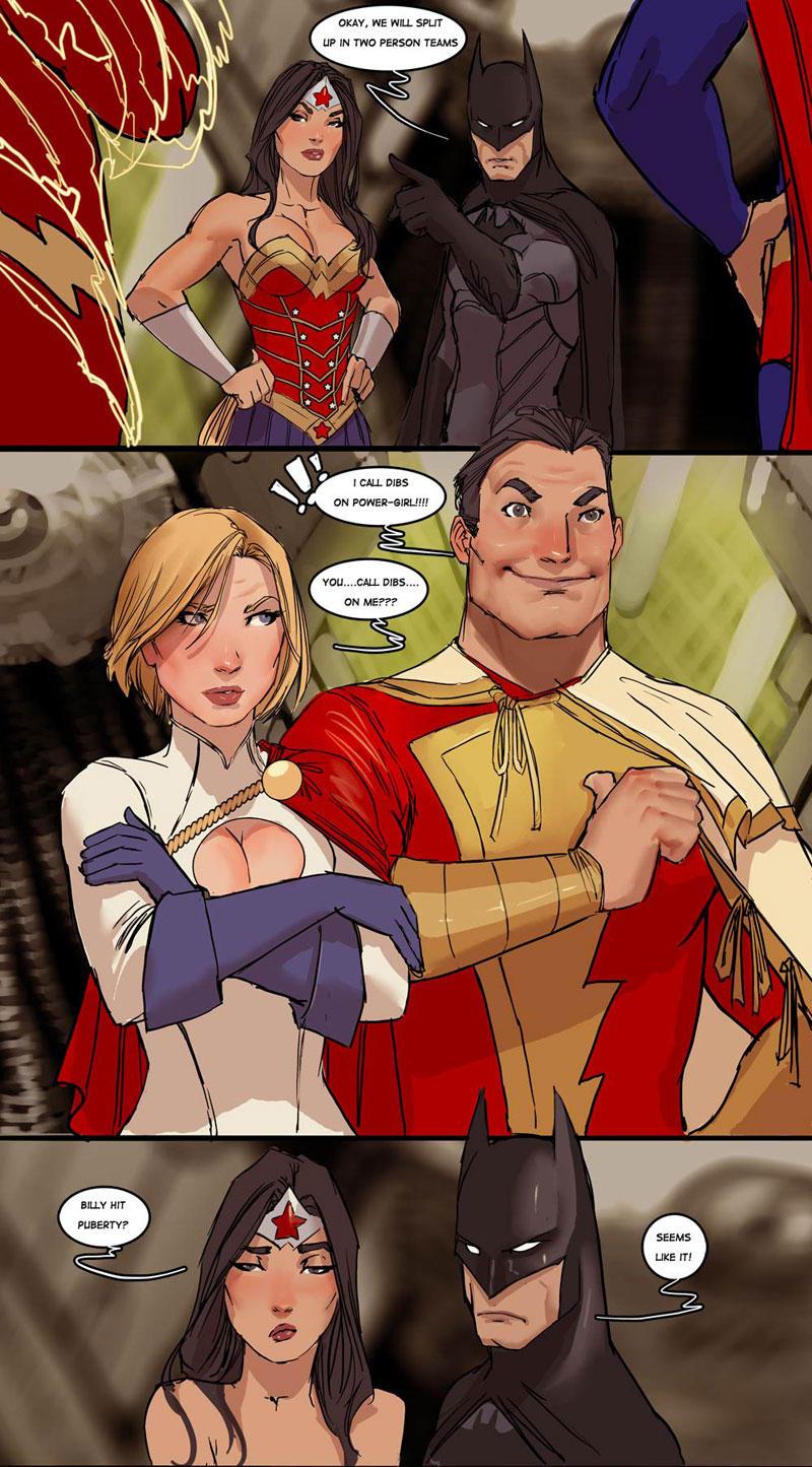 Super Puberty | DC Comics | Know Your Meme