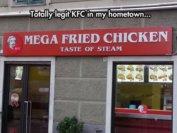 Kfc Funny Chicken Joke: Seems Legit / Sounds Legit