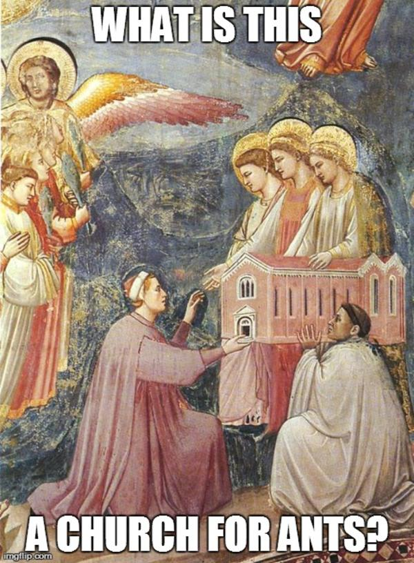 Image result for giotto meme