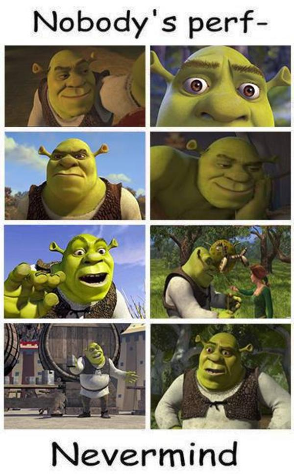 A Brief History Of Autism Research >> Shrek is love Shrek is life | Nobody's Perf- | Know Your Meme
