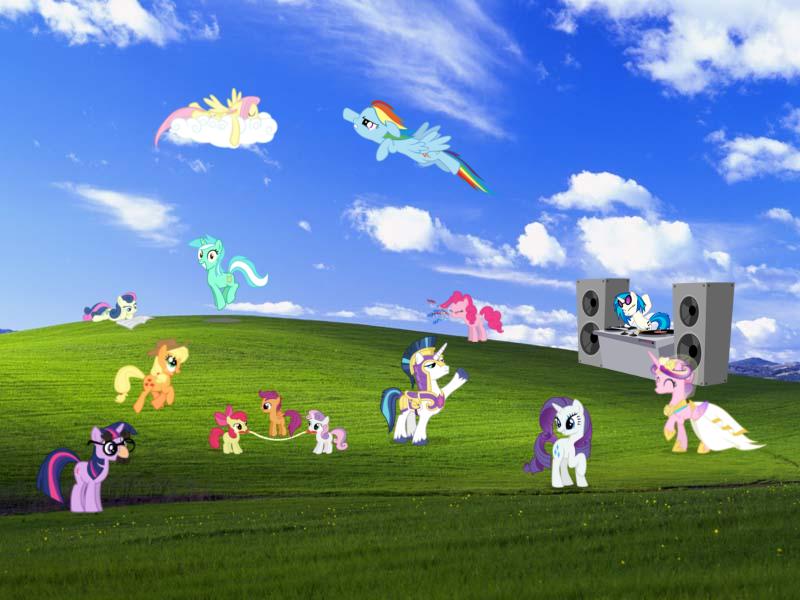 Fondo De Pantalla De Xp En Hd: Windows XP Bliss Wallpaper