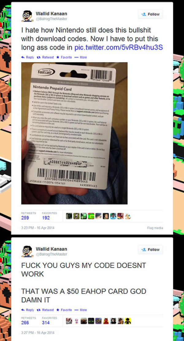 Idiot post $50 Prepaid Card Code which someone else steals in a ...