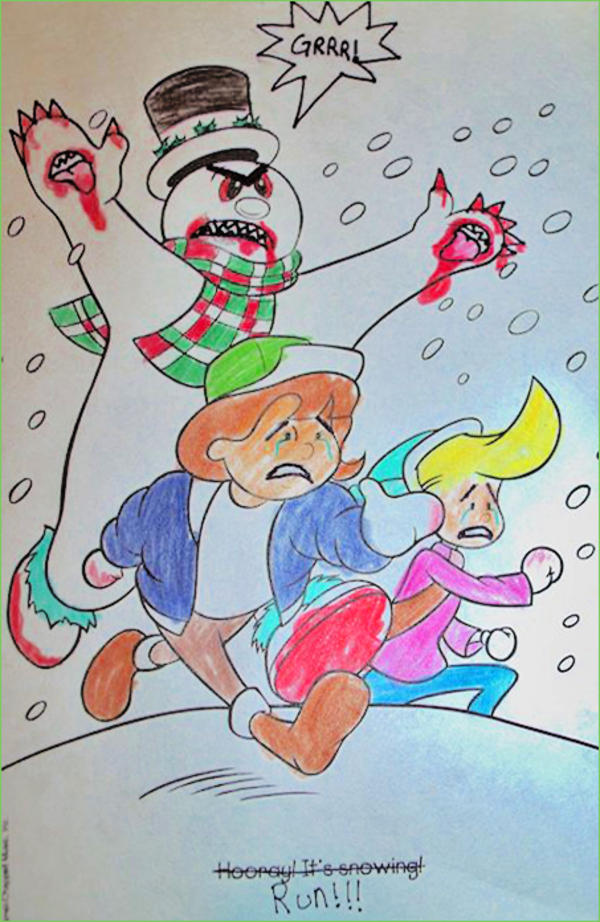 The Next Day Coloring Book Corruptions Was Covered By Laughing Squid And Smosh Among Other Internet Humor Blogs