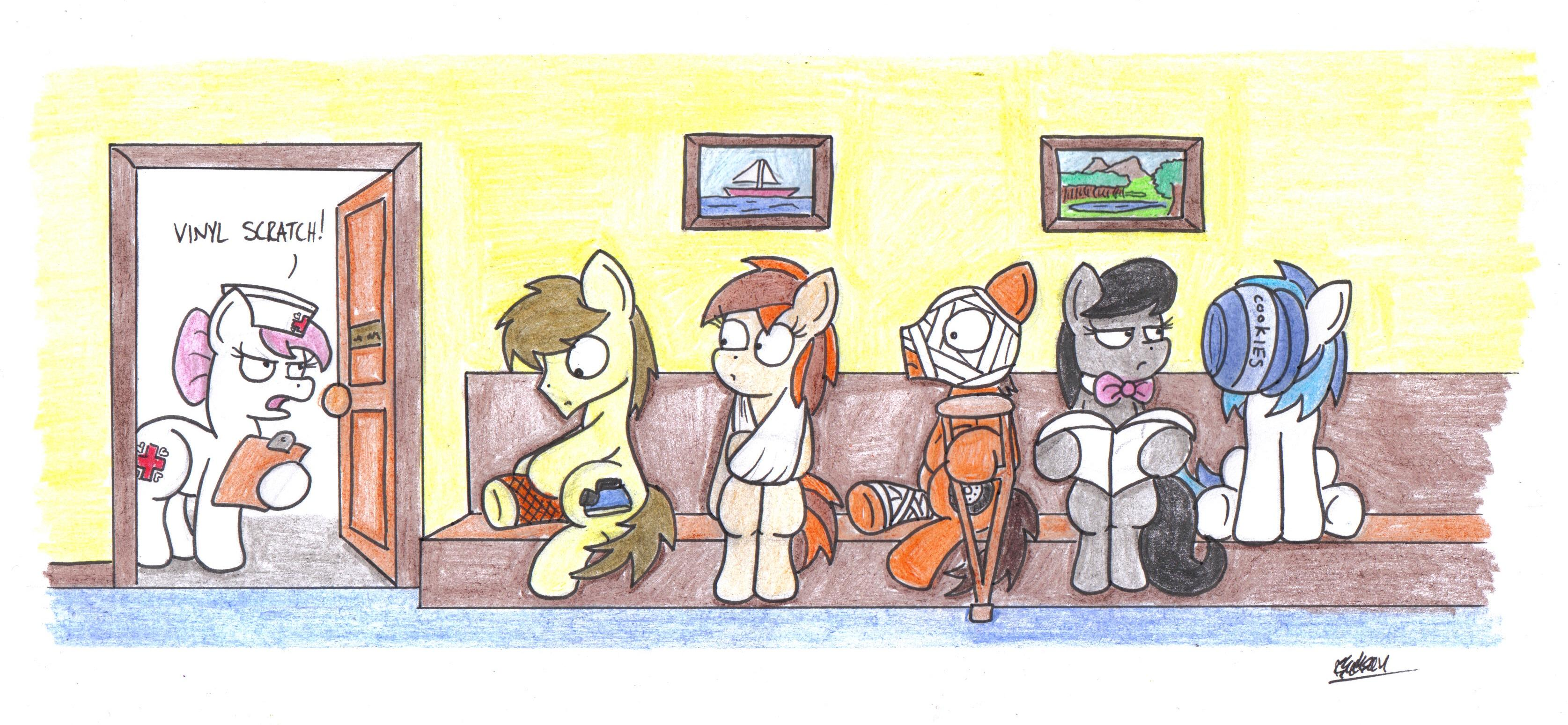Waiting Room My Little Pony Friendship Is Magic Know
