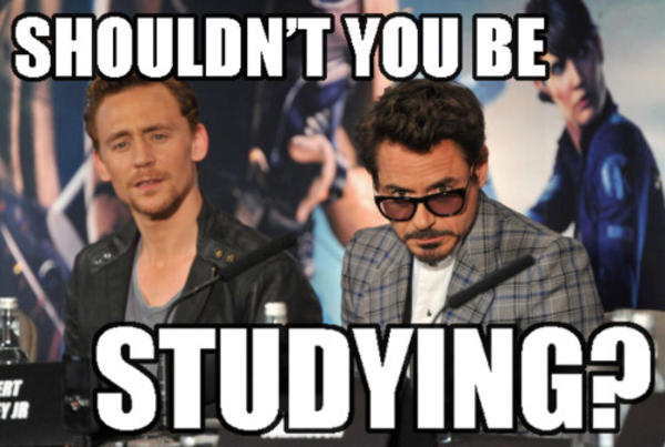 The Avengers Want You to Study | You Should Be Studying ...