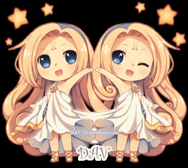 Chibi Gemini | Gijinka (擬人化) / Humanization | Know Your Meme