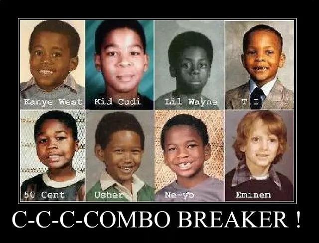 Eminem the Combo Breaker | Eminem | Know Your Meme