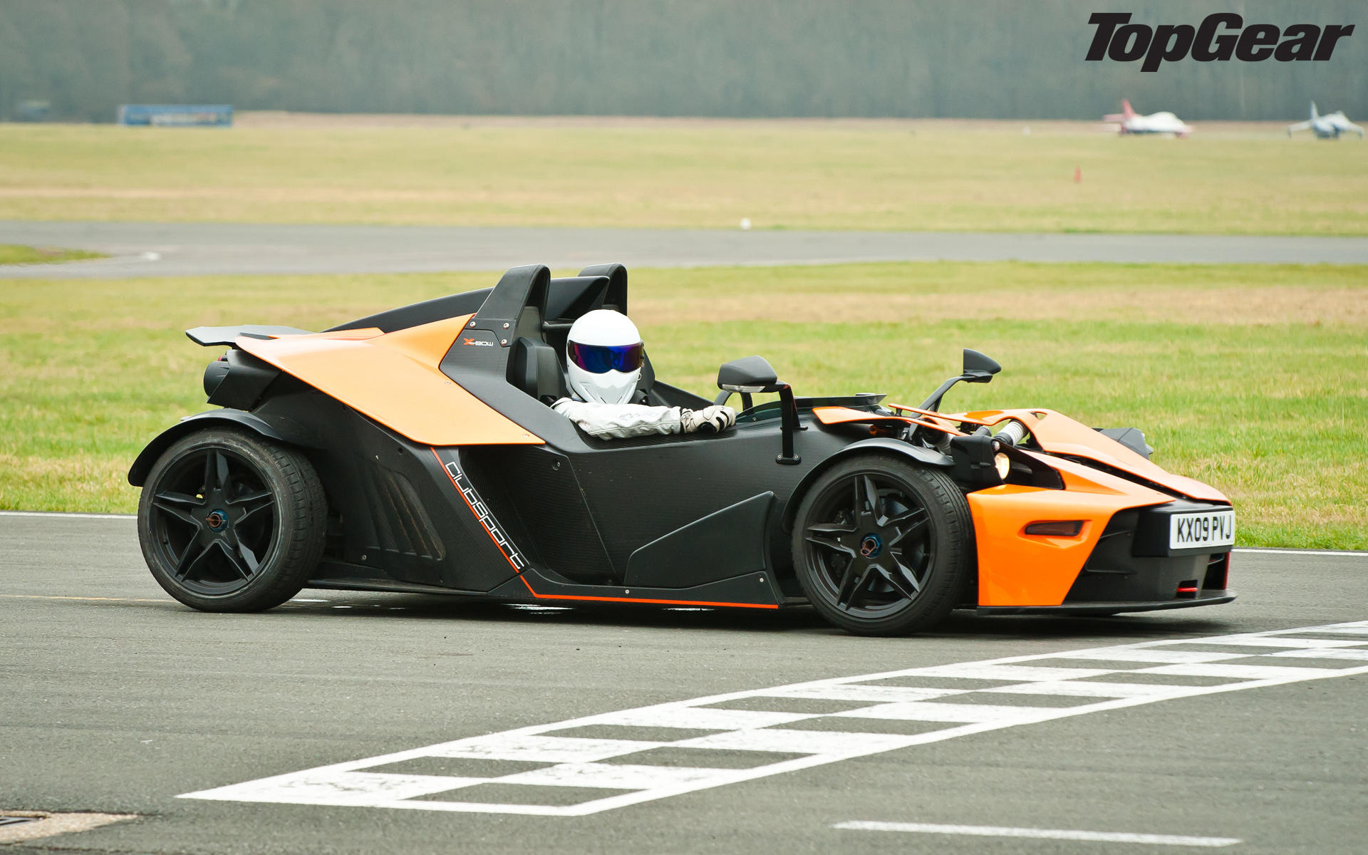 the stig in a ktm x bow top gear know your meme. Black Bedroom Furniture Sets. Home Design Ideas