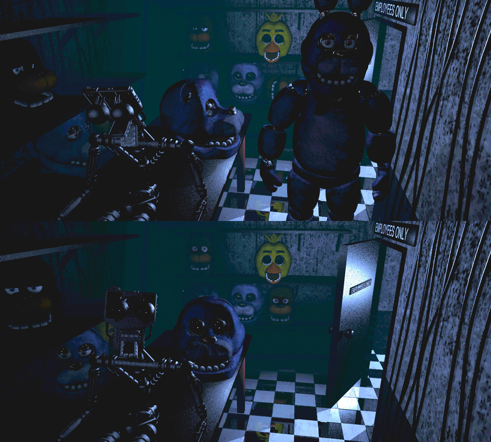 Endoskeleton Five Nights At Freddy S Know Your Meme