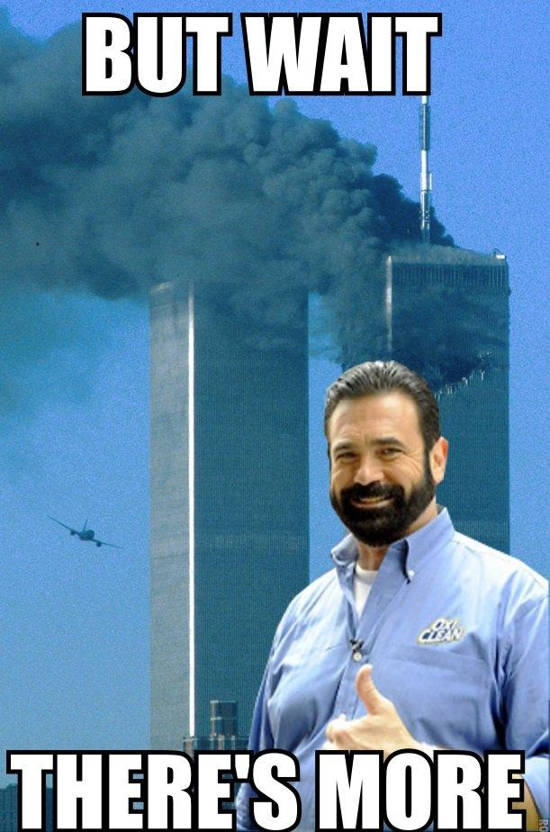 Billy Mays | September 11th, 2001 Attacks | Know Your Meme