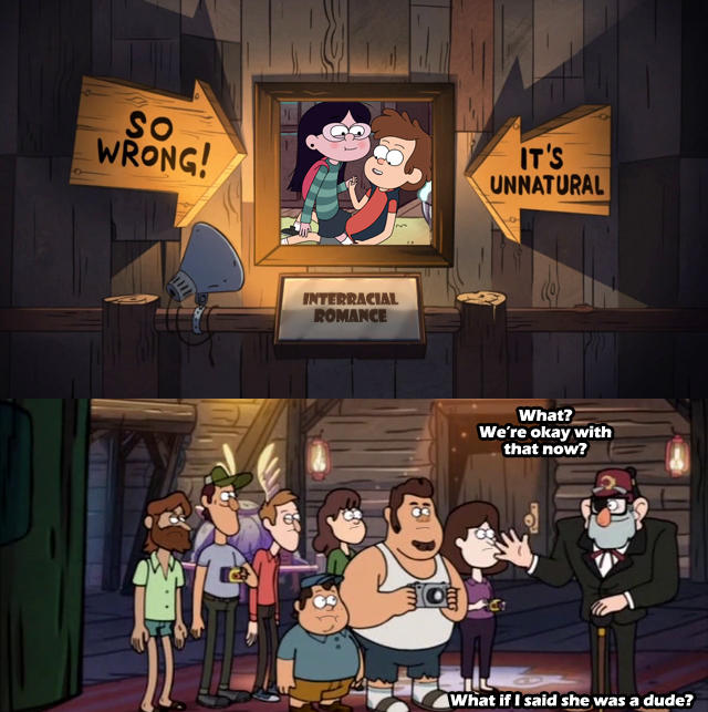 fe9 it's funny, because grunkle stan is old gravity falls know your