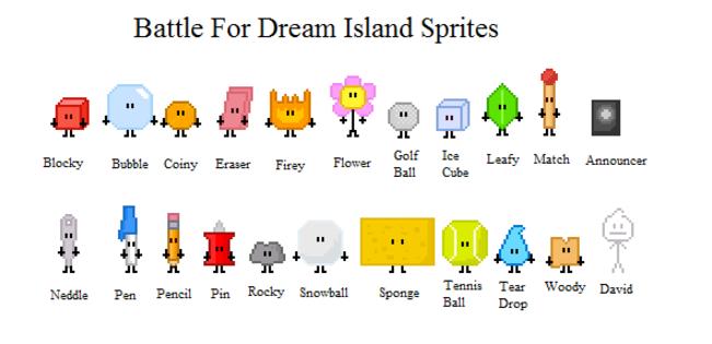 Bfdi Characters: Pixel Art Maker – Billy Knight