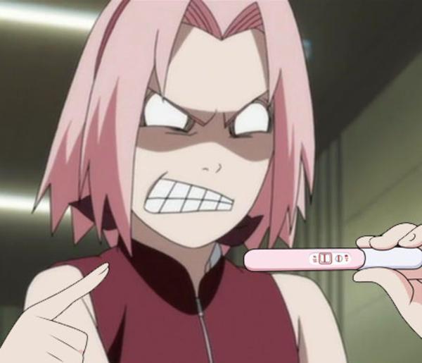 Goddammit Naruto Pregnancy Announcement Know Your Meme