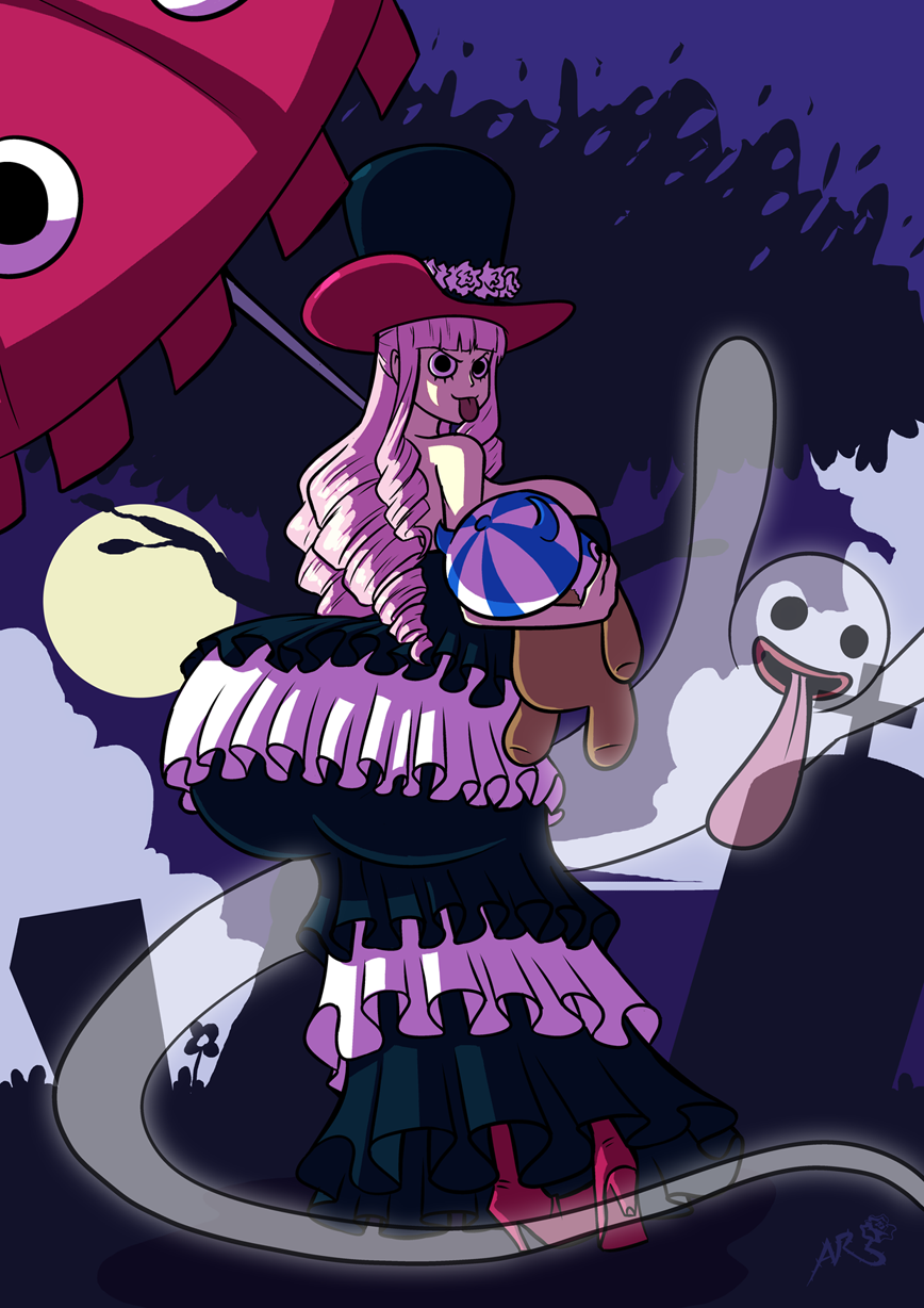 Perona Booty By Axel Rosered One Piece Know Your Meme