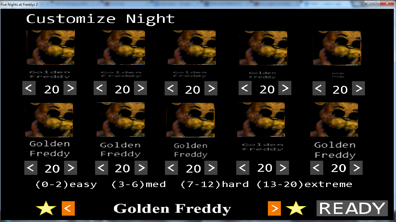 The real golden freddy challenge five nights at freddy s know your