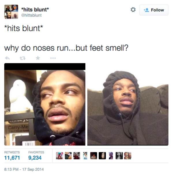 Why Do Noses Run But Feet Smell Hits Blunt Know
