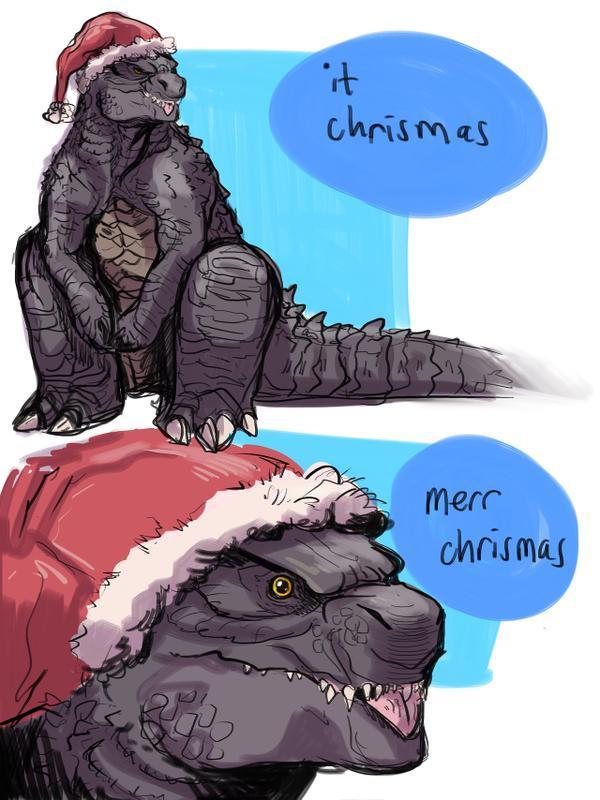 Merr Chrismas, Goji | Godzilla | Know Your Meme