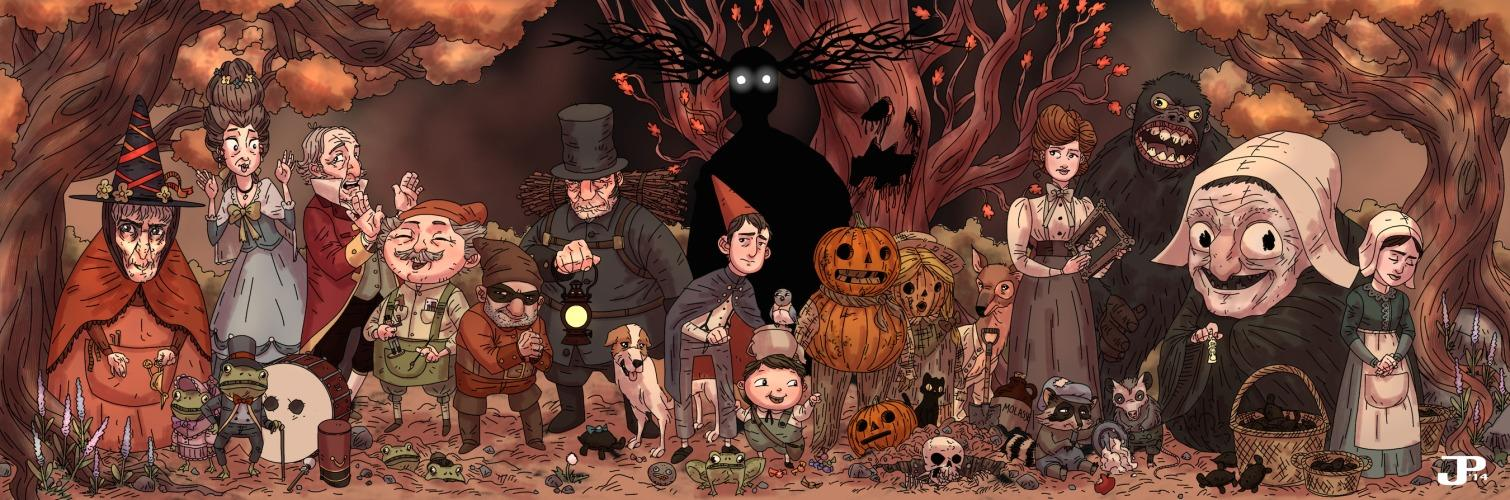 Art by Jacob Perez | Over the Garden Wall | Know Your Meme: knowyourmeme.com/photos/881281-over-the-garden-wall