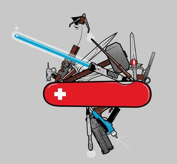 The Ultimate Swiss Army Knife Pic Swiss Army Knives