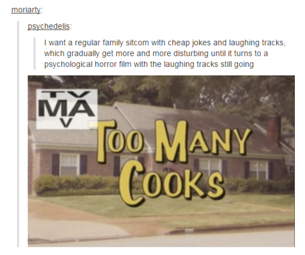 Image result for too many cooks meme
