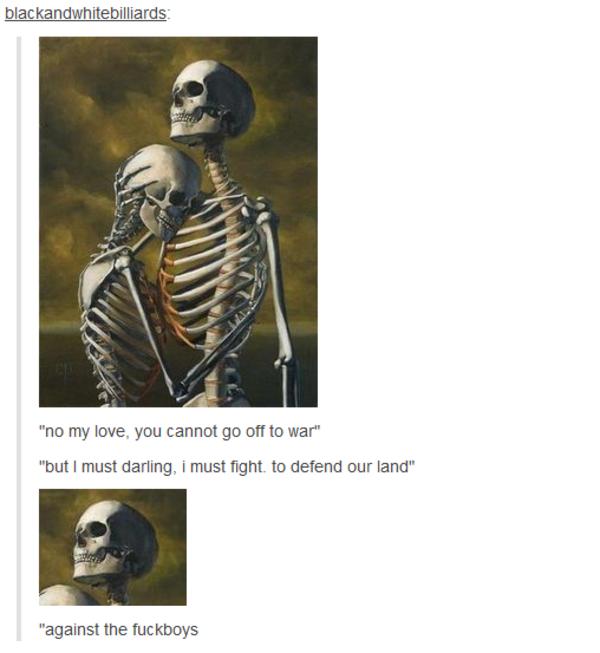 every skeleton has a duty