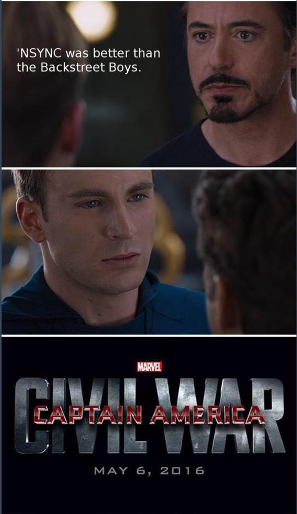 10a captain america civil war 4 pane captain america vs iron man