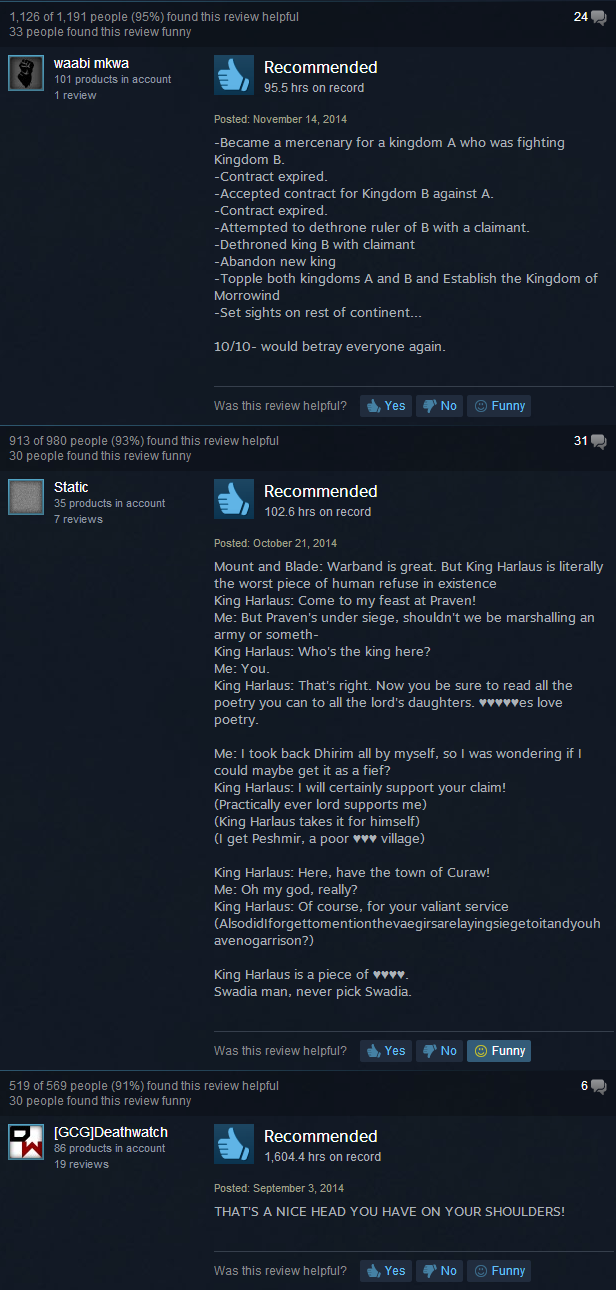 6bd mount & blade warband joke reviews steam user reviews know,Mount And Blade Memes