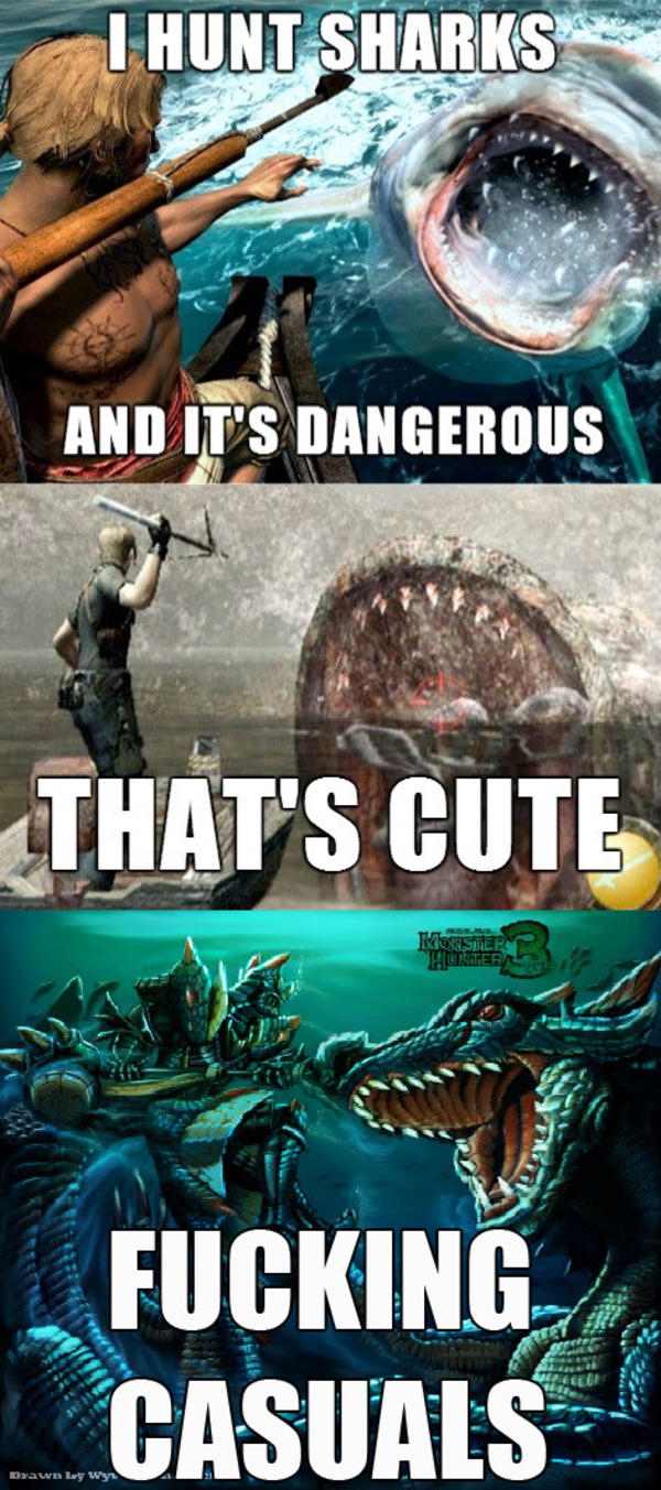 Image 907417 Monster Hunter Know Your Meme