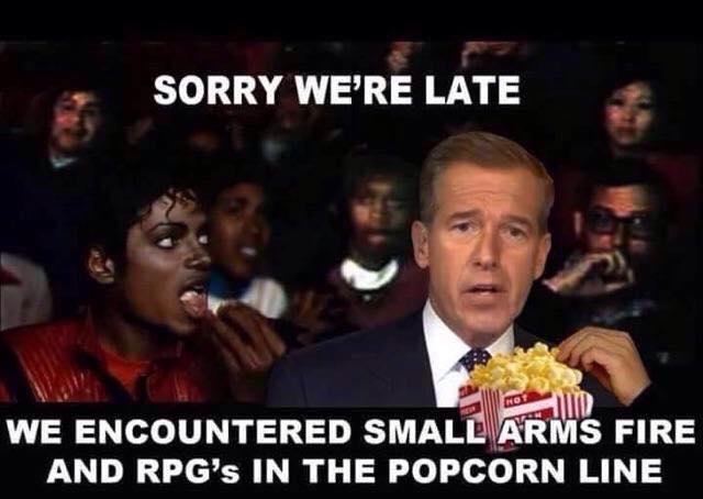 a8e brian williams popcorn line know your meme
