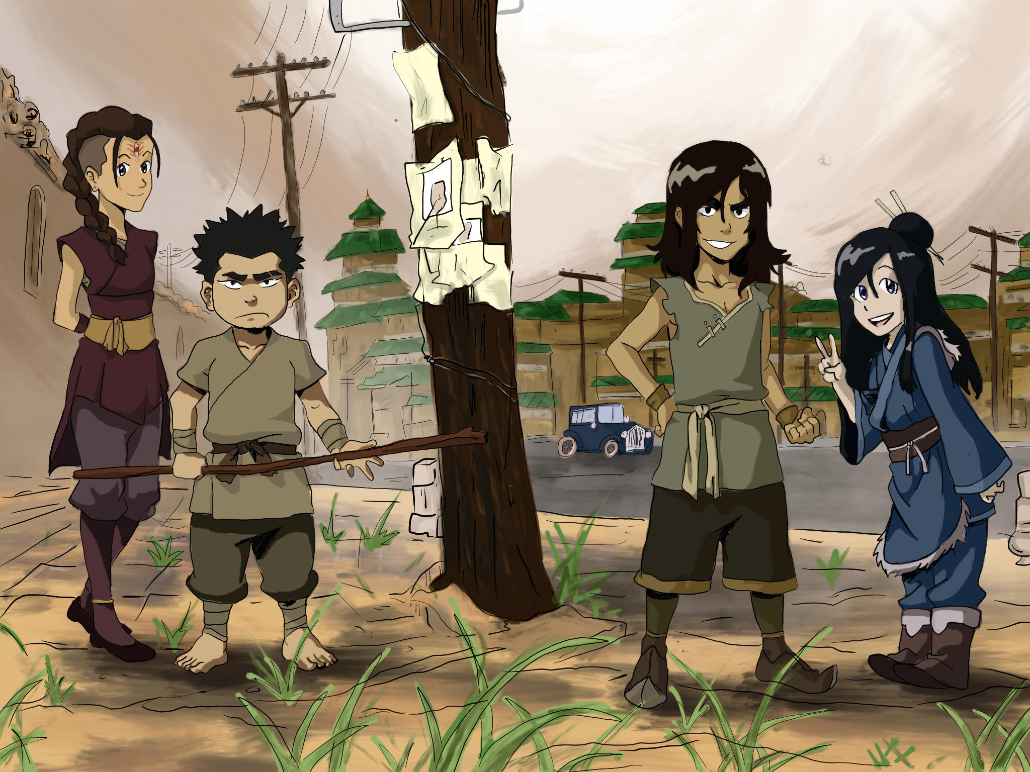 young red lotus members avatar the last airbender the