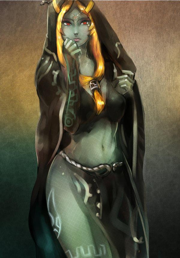 LOZ] Midna's true form   The Legend of Zelda   Know Your Meme