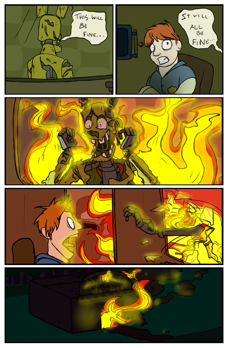 Ending Is All Life Is About Springtrap Know Your Meme